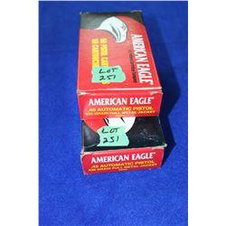 Handgun Ammunition - 2 Boxes