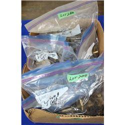 Handgun Brass - 1 Box (approx. 600 pcs - more or less)