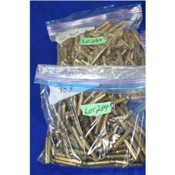 Brass - 2 lrg Bags (approx. 500 pcs - more or less)
