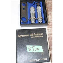 Lyman - 2 Die Set