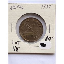 1951 NEPAL Hard to Get Coin