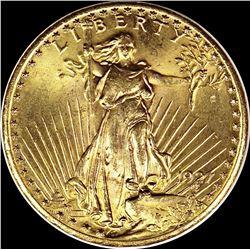 1927 $20.00 ST. GAUDENS GOLD