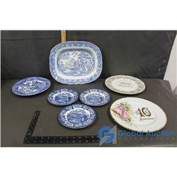 (7) Decorative Plates