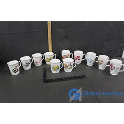 (11) Bone China Cups (made in England)