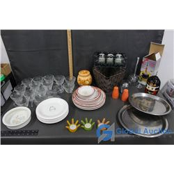 Large Assortment of Kitchenware and Decor
