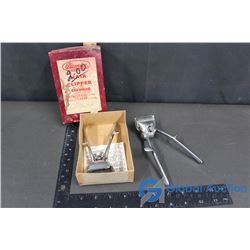 (2) Vintage Hair Clippers (one in box)