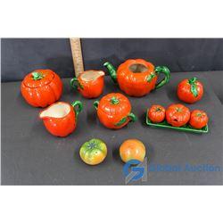 Tomato-Themed Kitchenware Items