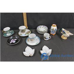 Tea Cups, & Plates and Decor