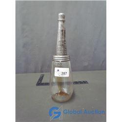 Glass Oil Jar w/ Spout