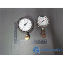 (2) Pressure Gauges