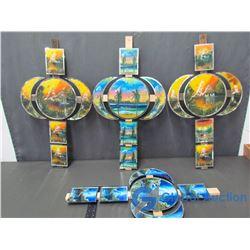 (3) Decorative Wall Crosses
