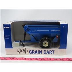 DIE CAST GRAIN CART (ERTL) *J & M* (IN ORIGINAL BOX)