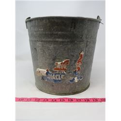 "METAL PAIL (9.5"" X 11"" DIAMETER)"