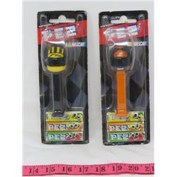 LOT OF 2 PEZ CANDY DISPENSORS (NASCAR COLLECTIBLES)