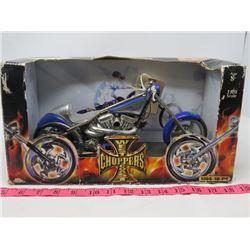 COLLECTOR MOTORCYCLE ( WEST COAST CHOPPERS) *SALT FLAT EL DIABLO*