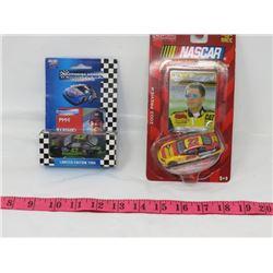 LOT OF 2 DIE CAST TOYS ( RACING CHAMPIONS, RACING COLLECTIBLES) *NASCAR PLATINUM SERIES-1994* (RACIN