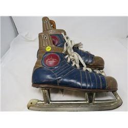 FAGAN HOCKEY SKATES (BOOT MANUFACTURED ENGLAND) *BLADES CANADA* (1950)