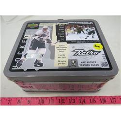 HOCKEY LUNCH BOX (TIN) *UPPER DECK-1999*