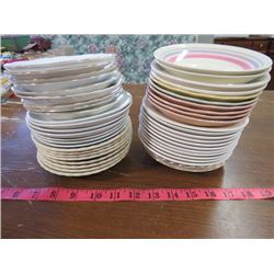 LOT OF ASSORTED SAUCERS (47 IN TOTAL)