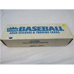 BOX OF BASEBALL CARDS