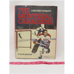 BOOK (A HOCKEY DYNASTY: THE MONTREAL CANADIANS) *1980*