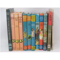 LOT OF 12 BOOKS (VINTAGE) *3 X FURY SERIES, 6 X THE CHILDREN'S PRESS, ETC*