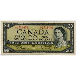 TWENTY DOLLAR BILL (CANADA) *1954*