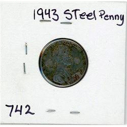 1943 STEEL PENNY (USA) *VERY RARE*
