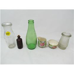 LOT OF ASSORTED GLASS SMALLS