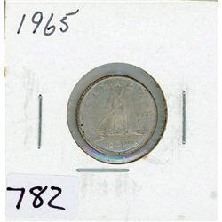 TEN CENT COIN (CANADA) *1965* (SILVER)