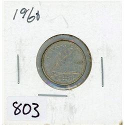 TEN CENT COIN (CANADA) *1960* (SILVER)