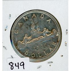 ONE DOLLAR COIN (CANADA) *1960* (SILVER)