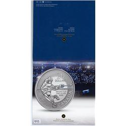 TWENTY DOLLAR SILVER COIN (CANADA) *HOCKEY* (CANADIAN MINT) *2013*