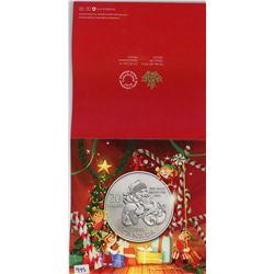 TWENTY DOLLAR SILVER COIN (CANADA) *SANTA* (CANADIAN MINT) *2014*