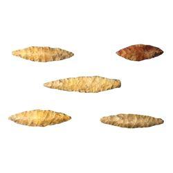 Stone Age Arrowhead Points, Artifacts