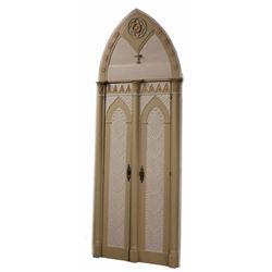Italian Gothic Revival Architectural Doors Set