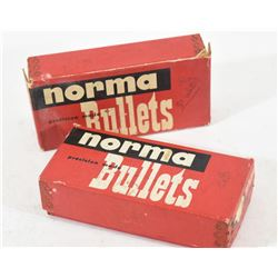 Two Boxes Norma 6.5mm 139grn SP Projectiles