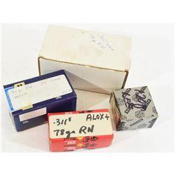 Box Lot 303 Cal Projectiles