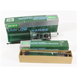 Box Lot Powder Measurers