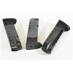 Three S&W M&P 40 Mags