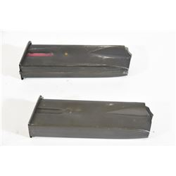 Two Browning HP Mags
