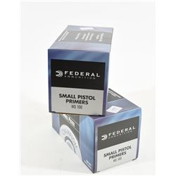2000 Federal Small Pistol Primers No 100