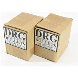 1000 Pieces DRG Hard Cast Bullets 40-180grn-FP