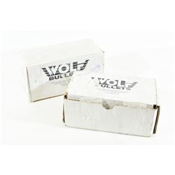 1000 Pieces Wolf Cast Lead Bullets
