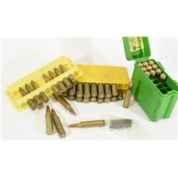 Box Lot Ammunition & Brass