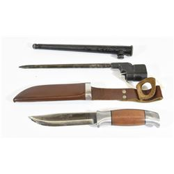 Knife and Bayonet