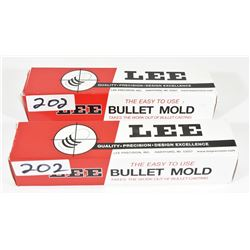 Lee Double Cavity Bullet Molds