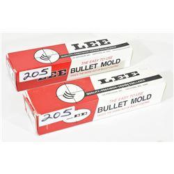 Lee Double Cavity Bullet Molds