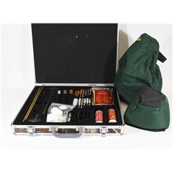Outers Cleaning Kit and Cabelas Shooting Rest