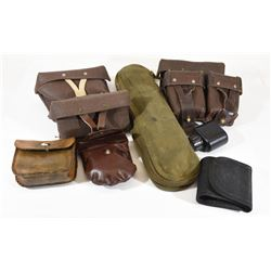 Box Lot  Ammo Pouches and Tools